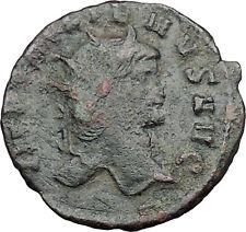 GALLIENUS son of Valerian I Authentic  Ancient  Roman Coin Antelope  i32660