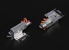 1 Paire Full Metal Train Rentrant Électrique 39g jusqu'à 3kg Modèle, 3mm Pin