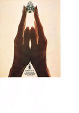 PUBLICITE ADVERTISING  1981   HARRY WINSTON    rare joaillier