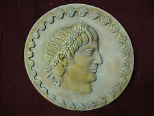 CONSANTIN THE GREAT wall PLAQUE relief stone sculpture COIN ART HOME DECOR