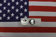 2011 S Silver Quarter Proof Roll - Vicksburg - ATB  - 40 qtrs - 25c