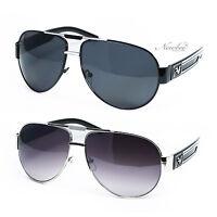 Mens Aviator Sunglasses Square Shaped 2 Pack Stylish Designer Sunglasses for Men