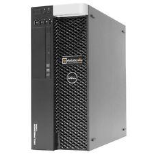 8-Core Dell T3600 Workstation Xeon E5-4650L Ram 32GB SSD 128GB HDD 500GB W10 B-W