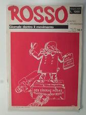 Rosso. Giornale dentro il movimento. Giu. 1976. N. speciale contro il riformismo