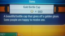 gold bottle cap Pokemon Sun and Moon