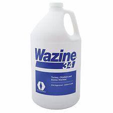 Wazine 34% Piperazine Water Dewormer Swine Poulty Lg Roundworms Nodular Gallon