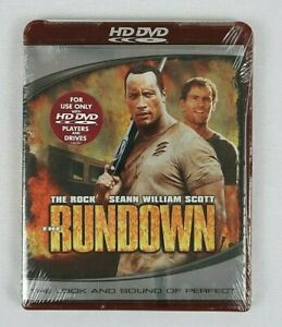 The Rundown (HD-DVD, 2006)    For USE in HD DVD players Only ! New Sealed !