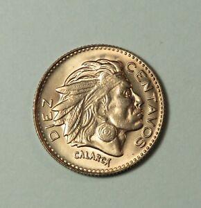 1964 10 Centavos Colombia Unc World Coin Chief Calarca KM212.2 ten cents Diez