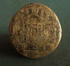 Tiberius Temple Sestertius With Nero Countermark 36-7 AD