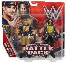 WWE JOHN CENA SETH ROLLINS BATTLE PACK SERIES WRESTLING MATTEL FIGURE