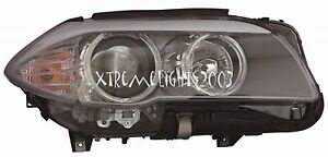 BMW 5 SERIES SEDAN 2011-2013 RIGHT PASSENGER HEADLIGHT HEAD LIGHT FRONT LAMP