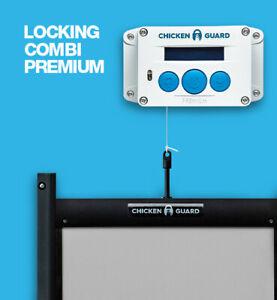 ChickenGuard Premium Automatic Chicken Coop Door Opener & Self-Locking Door Kit