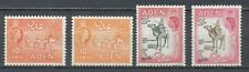 ADEN 1953-1959 - 4 FAUNA STAMPS (Definitives ) CAMELS (4)                  Hk