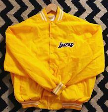 Vintage Lakers Los Angeles Lakers 80s Satin Varsity Jacket