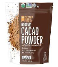 Organic Cacao Powder Cocoa Substitute Bulk 1 LB, Superfood, Non-GMO, Gluten-Free