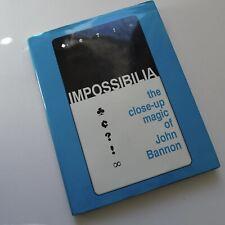 Impossibilia John Bannon Out of Print