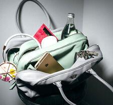 SAVE £2000!!!! Prada $3450 Large 'Inside' Tote Bag Grey/Aqua Granito/Acquama NWT