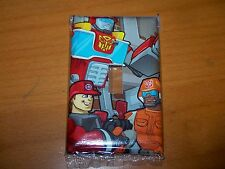 Transformers Rescue Bots Heatwave Light Switch Plate