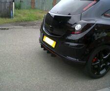 Vauxhall Corsa d limited edition diffuser fins/race fins/VXR/bumper fins/Corsa d