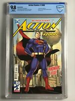 Action Comics 1000 - CBCS 9.8 - Jim Lee Anniversary Edition - 1st App Rogol Zaar
