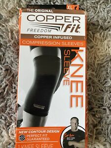 Copper Fit Knee Compression Sleeve - X-Large