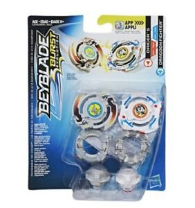 Hasbro Beyblade Burst Driger S & Dragoon Fighter Dual Pack US Seller