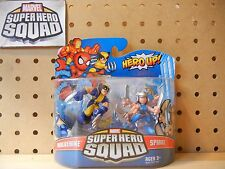 Marvel Super Hero Squad SEALED Wave 17: SPIRAL & WOLVERINE X-Men Mojo World