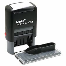 Trodat 4755 Do-It-Yourself Date And Text Stamp Self-Inking