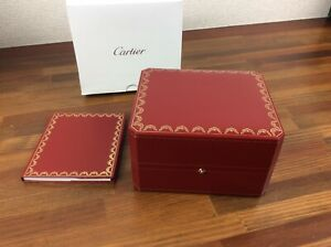 Cartier Watch Box CO1018 with Outer Box in good condition + FREE SHIPPING