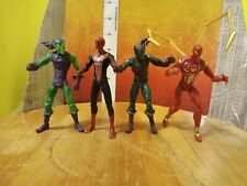 "Marvel Universe Hasbro 3.75"" Spider-Man & Villains Figure lot Green goblin"