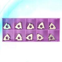 Set of 10 CNC Threading Carbide Inserts Blades for 16ER AG6/16IRAG60/SER/SEL