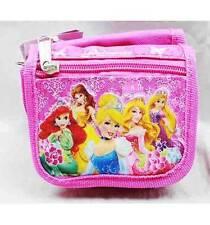 NWT Disney Princess String Strap Wallet Small Purse Pink- Ariel, Cinderella, etc