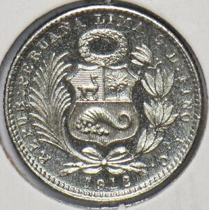 Peru 1912 Dinero 192708 combine shipping