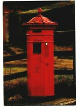 PILLAR BOX POSTCARD. LOCATED IN BUDBY, NEWARK, DATED FIRST DAY OF SALE SEPT.81
