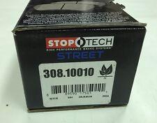 Stoptech Street Brake Pads for 04-07 STi / 03-06 Evo / 08-10 Evo Front Brake Pad