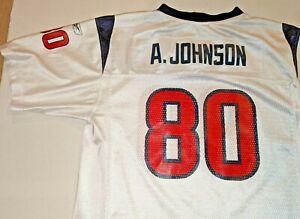 Houston Texans Andre Johnson NFL Reebok Football Jersey Boys Youth XL(18-20)