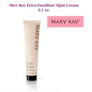 MARY KAY EXTRA EMOLLIENT NIGHT CREAM~FULL SIZE~VERY DRY SKIN~FACE & BODY! FRESH