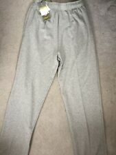 "M&S GREY MARL SWEATPANTS JOGGERS IN COTTON RICH WITH STRETCH FABRIC-W30-32"" BNWT"