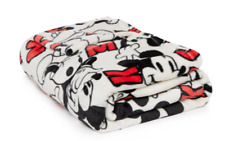 Disney Throw Mickey & Minnie Mouse Blanket 125CM x 150CM Soft Primark