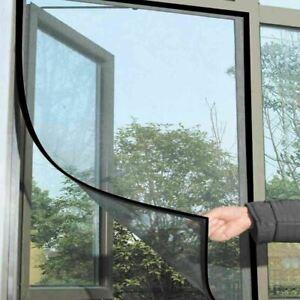 Large Black Window Screen Mesh Net Bug MOSQUITO Fly Insect Moth Door netting