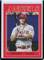 2020 Topps 582 Montgomery Club Set 5 Mike Trout #1