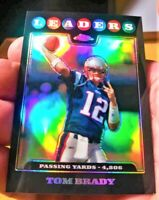 Rare 2008 Topps Chrome Black Refractor Patriots Tom Brady PSA?