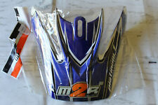 M2R Helmet Visor Motocross Made to Ride Platinum 1 Xrevv750 Revx-2 Bmx Blue Yot