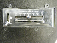 CHEVY GMC PICKUP HEATER CONTROLS WITH A/C 1983-1987 NICE USED PART