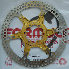 "Formula - One disk rotor 160mm/6"" model 2-piece GOLD spider 6 holes - FD54020-00"