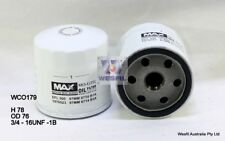 WESFIL OIL FILTER FOR Volkswagen Polo 1.2L TSi 2014 09/14-on WCO179