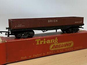 Triang  Railways  BOGIE BRICK WAGON OO scale Boxed. R219