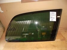 FORD GALAXY 01-06 VW SHARAN SEAT ALHAMBRA DRIVER SIDE REAR QUARTER WINDOW GLASS