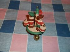 Chrismas Ornament 1986 Hallmark Little Drummers Arms Go Up Down Ornament Only