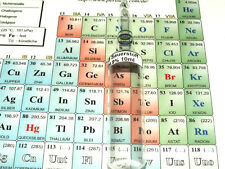 O 8 Sauerstoff gasförmig oxygen sample Borosilikatglas Ampulle Elementesammlung